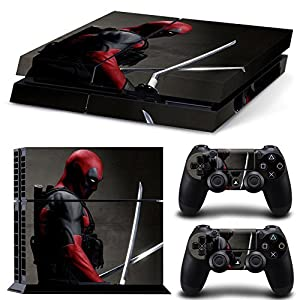 GoldenDeal PS4 Console and DualShock 4 Controller Skin Set - SuperHero - PlayStation 4 Vinyl