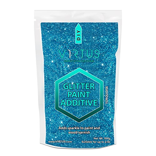 v1rtus-turquoise-glitter-paint-crystals-additive-100g-emulsion-walls-ceilings-for-use-with-interior-