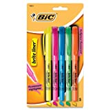 BIC Brite Liner, Assorted Colors (5-Pack)
