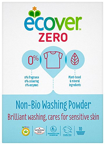 Ecover Zero Percent Non Bio Washing Powder 10 Washes 750 g (Pack of 3)