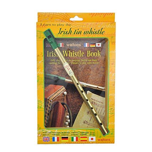 Walton's Irish Tin Whistle In D Book (Walton Irish Whistle compare prices)
