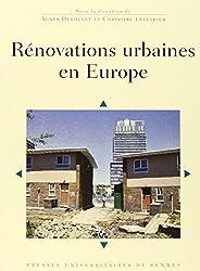 Rénovations urbaines en Europe