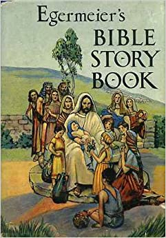 Bible story book with pictures