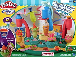 Play-Doh Magic Swirl Ice Cream Shoppe Gift Set by Hasbro