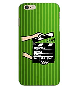 PrintDhaba Shot Takes D-2607 Back Case Cover for APPLE IPHONE 6 PLUS (Multi-Coloured)
