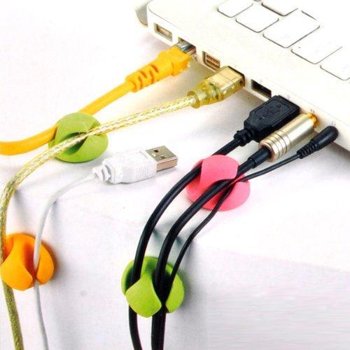 Enem Cable Anti Fall drop clip Multipurpose Holder organizer