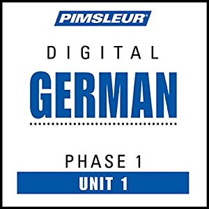 German Phase 1, Unit 01 Audiobook