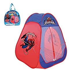 Toys Bhoomi Spider-Man Play Tent - 100% Safe Polyester Fabric