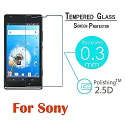 Ascari New 2.5D Explosion Proof Anti Shatter Premium Tempered Glass For Sony M35h Xperia SP C5302 C5303 Screen Protector LCD Film