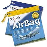 Snopake 15158 Zippa Bag Flight Air Bag Zip Pull 200x200mm [Pack of 5]