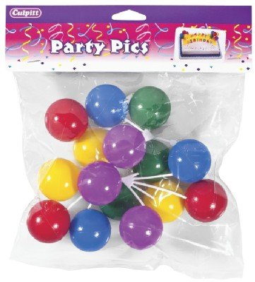 balloon cluster cake decorations 3 pc arts entertainment