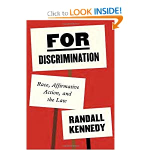 For Discrimination: Race, Affirmative Action, and the Law by