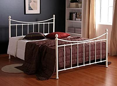 New Alderley Metal Bed Frame 4FT Small Double Ivory