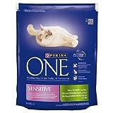 Purina One Sensitive Cat Turkey & Rice 800g