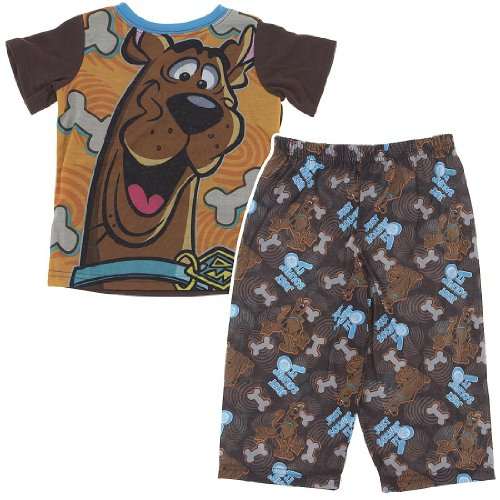 Scooby Doo Just Solvin' It Pajamas For Toddlers And Boys 3T front-173168