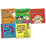 Nick Sharratt Pack, 5 books, RRP £32.95 (Don't Put Your Finger in the Jelly, Nelly; Fancy Dress Farmyard; I Went to the Zoopermarket; Ketchup on Your Cornflakes?; One Fluffy Baa-Lamb, Ten Hairy Caterpillars). Nick Sharratt