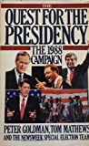 img - for The Quest for the Presidency, 1988 book / textbook / text book