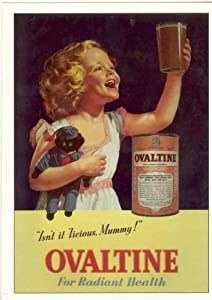 Vintage Ovaltine Advertising Poster A3 reprint: Amazon.co ...