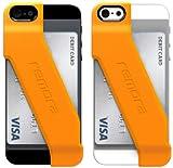 Remora iPhone5/5s用カードホルダーケース カードケース for iPhone 5/5s (HIGH VOLTAGE ORANGE)