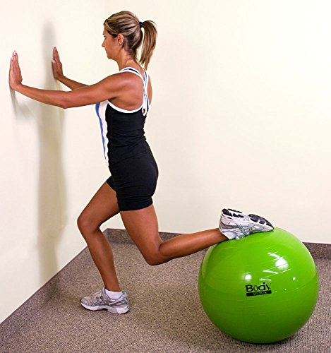 Pilates Pro Chair Tones Your Body Fitness Gizmos: Exercise Ball With Pump (Green 55cm)