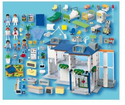 Opiniones de playmobil 4404 hospital comprar en amazon for Hospital de playmobil