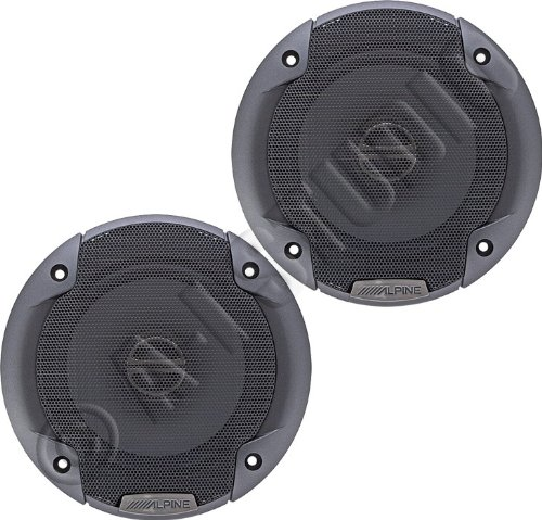 "Alpine Spe-5000 5-¼"" 2-Way Car Speakers"