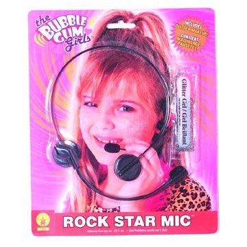 The Bubble Gum Girls Rock Star Mic