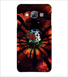 PrintDhaba Flowers D-4659 Back Case Cover for SAMSUNG GALAXY A3 (Multi-Coloured)