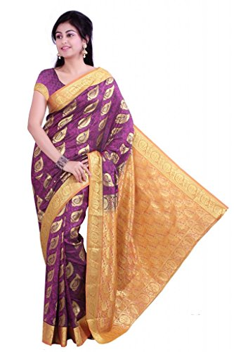Ishin Printed Cotton Sari (multicolor)