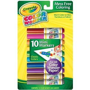 Crayola Color Wonder 10 Mini Markers