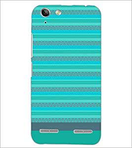 PrintDhaba Tribal pattern D-1857 Back Case Cover for LENOVO A6020a46 (Multi-Coloured)