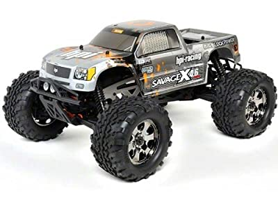 HPI Racing 109083 RTR Savage X 4.6 2.4Ghz RTR Truck, 1/8 Scale