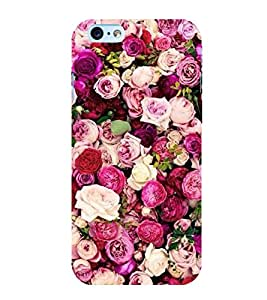 Roses 3D Hard Polycarbonate Designer Back Case Cover for Apple iPhone 6 Plus :: Apple iPhone 6+
