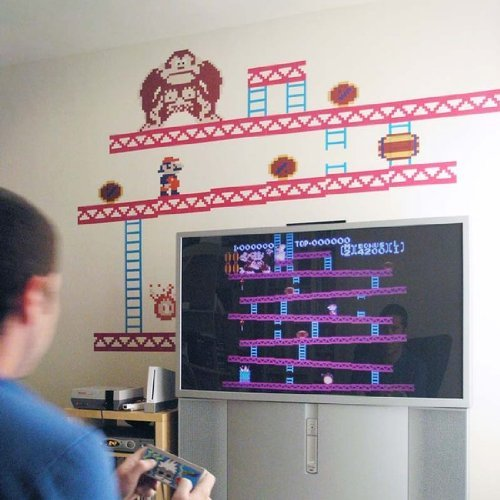 Donkey Kong Wall Stickers - 1