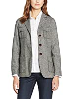 CONTE OF FLORENCE Chaqueta Negro / Blanco ES 42 (IT 46)