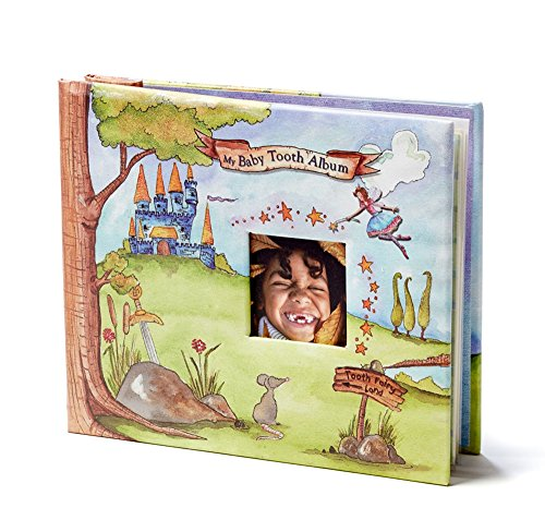 Baby Tooth Album Fairyland Collection Memory Book, Blue