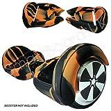 Cover in gel di silicone per Hoverboard e 2 ruote da 16,5 cm