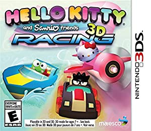 Hello Kitty & Sanrio Friends 3D Racing - Nintendo 3DS from Majesco Sales Inc.