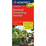 Emsland - Hümmling - Hasetal: Fahrradkarte. GPS-genau. 1:70000 (KOMPASS-Fahrradkarten Deutschland)