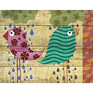 Rainy Day II Canvas Art