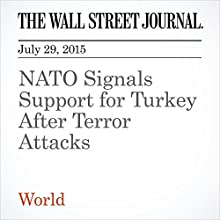 NATO Signals Support for Turkey After Terror Attacks (       UNABRIDGED) by Julian E. Barnes, Joe Parkinson, Ayla Albayrak Narrated by Ken Borgers