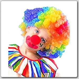 Clown Wig (Rainbow) Child Party Accessory
