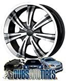 "DIP Gunner D88 Chrome Wheel (24x9.5""/12x135mm)"
