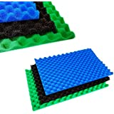 "POND FILTER 3 GRADE MEDIA FOAM SET 17"" X 11"" COARSE, MEDIUM AND FINE"