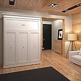 Bestar Versatile 70'' Queen Wall Bed in White