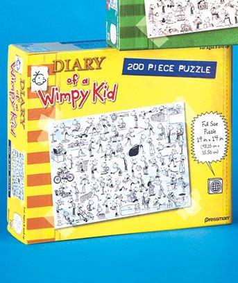 200-Pc. Dog Days Diary Of A Wimpy KidTM Puzzle - 1