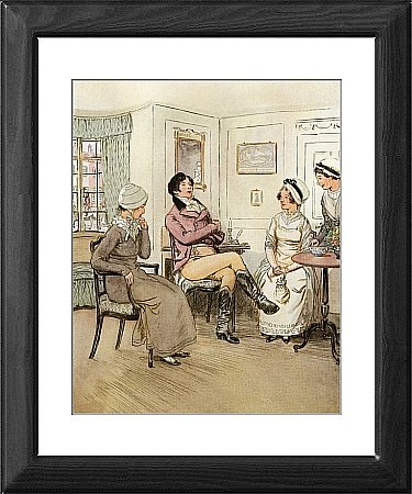 Framed Print of J M Barrie Quality Street from Lma