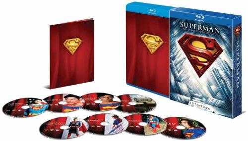 スーパーマン モーション・ピクチャー・アンソロジー(8枚組)【初回限定生産】 [Blu-ray]