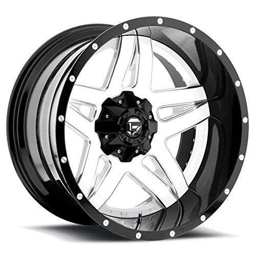 Fuel D255 Full Bllown 2-Piece 22x12 6x135/6x139.7 -44mm White/Black Wheel Rim (22 Rims White compare prices)