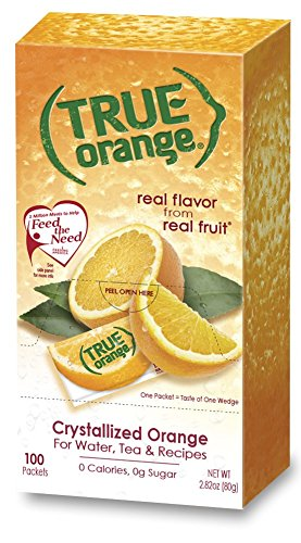 True Orange Bulk Dispenser Pack, 100 Count (Diet Water Mix compare prices)